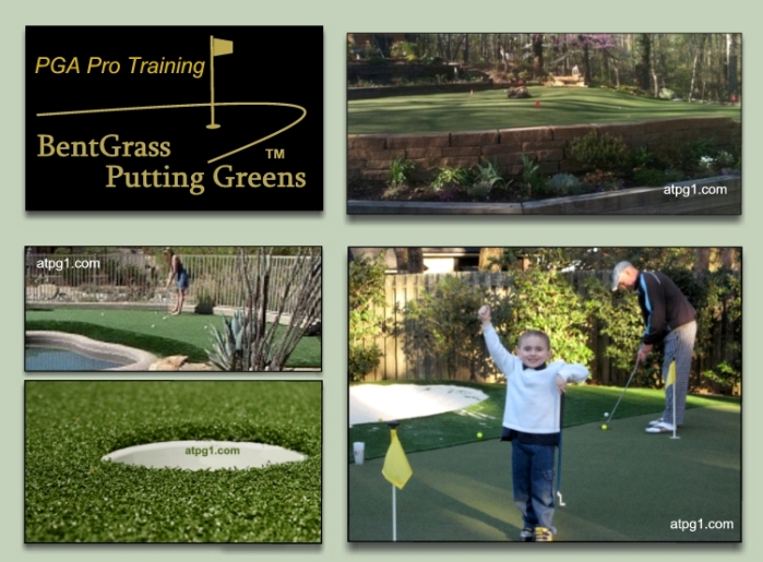 practice putting greens